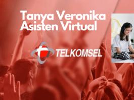 tanya veronika asisten virtual Telkomsel